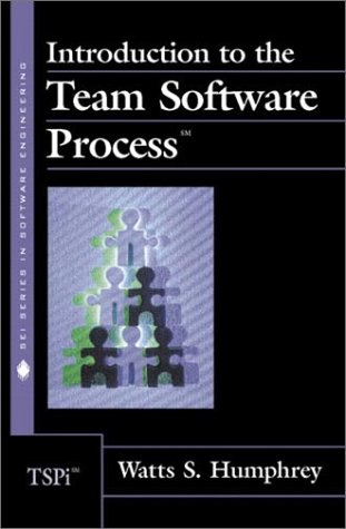 Introduction to the Team Software Process   2000 9780201477191 Front Cover