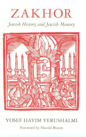 Zakhor Jewish History and Jewish Memory N/A edition cover