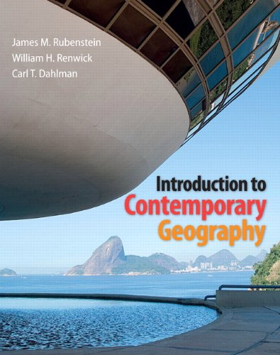 Introduction to Contemporary Geography   2013 edition cover