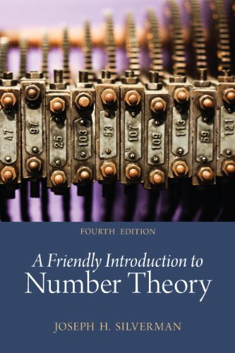 Friendly Introduction to Number Theory  4th 2013 (Revised) edition cover