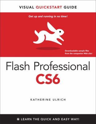 Flash Professional CS6 Visual QuickStart Guide  2013 (Revised) edition cover