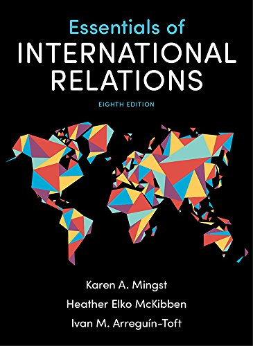 Essentials of International Relations:   2018 9780393675191 Front Cover