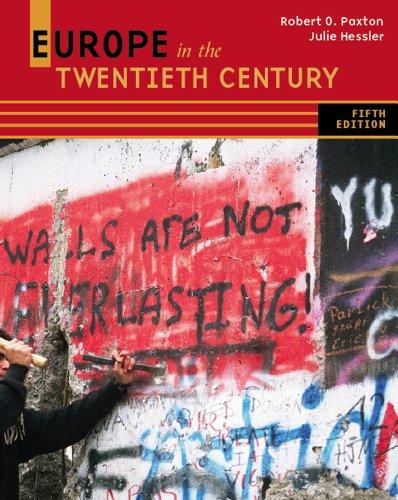 Europe in the Twentieth Century  5th 2012 edition cover