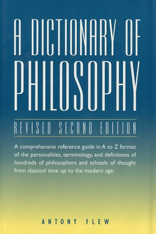 Dictionary of Philosophy 2nd 1999 edition cover