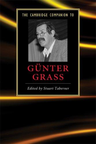 Cambridge Companion to G�nter Grass   2009 9780521700191 Front Cover
