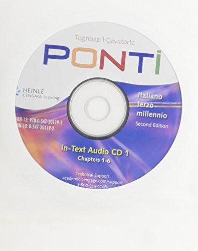 Ponti Italiano Terzo Millennio 2nd 2009 9780547201191 Front Cover