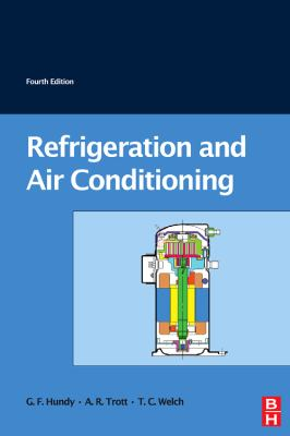 Refrigeration and Air-Conditioning  4th 2008 9780750685191 Front Cover