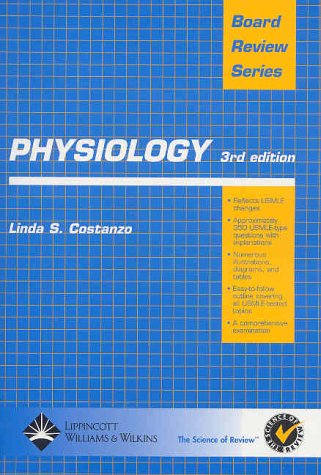 Physiology  3rd 2003 (Revised) edition cover
