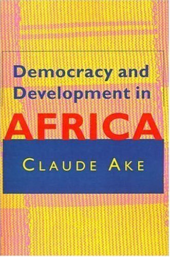 Democracy and Development in Africa   1996 edition cover