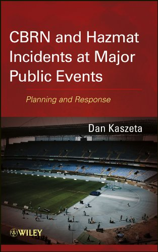 CBRN and Hazmat Incidents at Major Public Events Planning and Response  2013 edition cover
