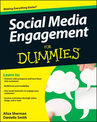 Social Media Engagement for Dummies�   2013 edition cover