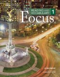 Reading and Vocabulary Focus   2014 (Student Manual, Study Guide, etc.) edition cover