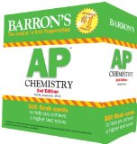 Barron's AP Chemistry  2nd 2014 (Revised) edition cover
