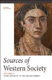 Sources of Western Society From Antiquity to the Enlightenment 3rd 2014 edition cover