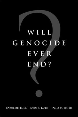 Will Genocide Ever End?   2002 edition cover