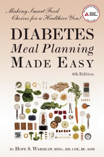 Diabetes Meal Planning Made Easy  4th 2010 edition cover