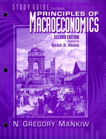 Brief Principles of Macroeconomics  2nd 2001 (Student Manual, Study Guide, etc.) 9780030270192 Front Cover