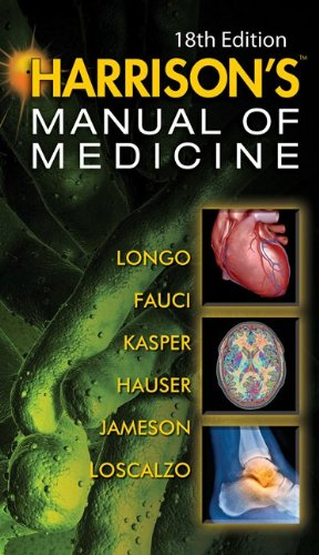 Harrison's Manual of Medicine  18th 2013 edition cover