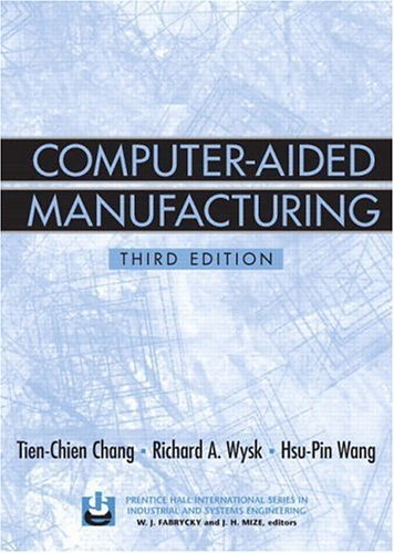 Computer-Aided Manufacturing  3rd 2006 edition cover