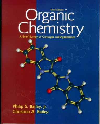 Organic Chemistry A Brief Survey of Concepts and Applications 6th 2000 edition cover