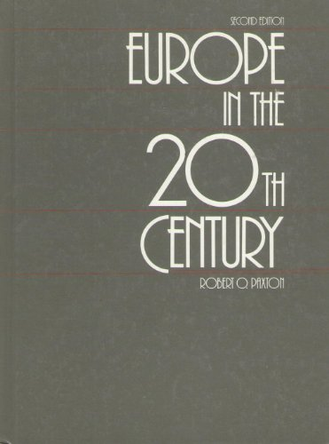 Europe in the Twentieth Century 2nd edition cover