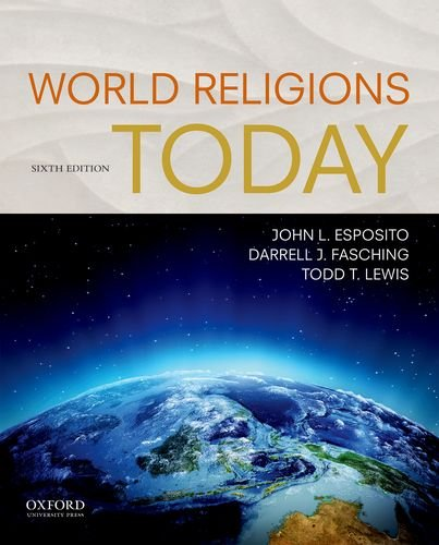 World Religions Today:   2017 9780190644192 Front Cover