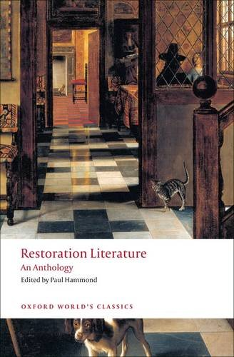 Restoration Literature An Anthology N/A edition cover