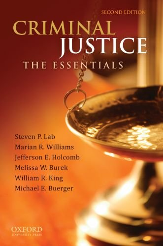Criminal Justice The Essentials 2nd 2011 edition cover