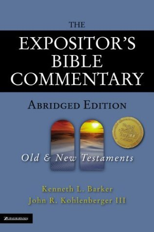 Expositor's Bible Commentary  2nd 2004 (Abridged) edition cover