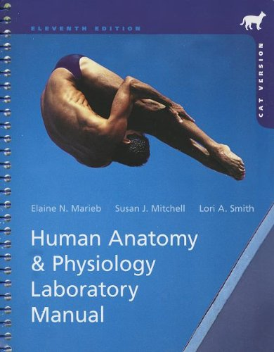 Human Anatomy and Physiology Laboratory Manual, Cat Version  11th 2014 9780321822192 Front Cover