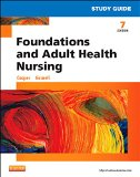 Study Guide for Foundations and Adult Health Nursing  7th 2014 edition cover