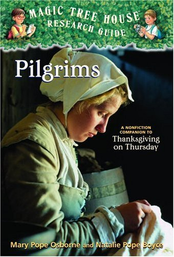 Pilgrims A Nonfiction Companion to Thanksgiving on Thursday  2005 edition cover