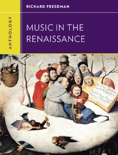 Anthology for Music in the Renaissance   2013 edition cover