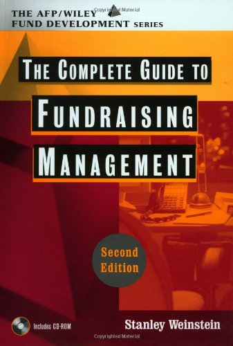 Complete Guide to Fundraising Management (AFP/Wiley Fund Development Series)  2nd 2002 (Revised) edition cover