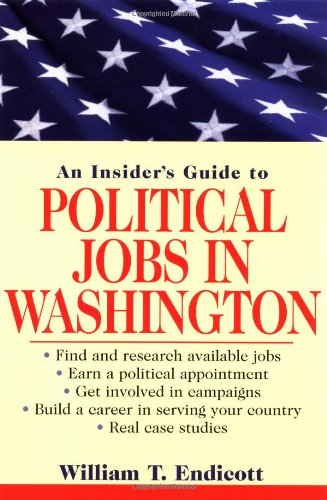 Insider's Guide to Political Jobs in Washington   2003 9780471268192 Front Cover