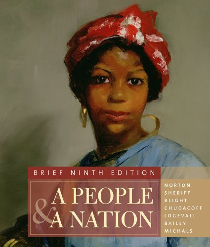 People and a Nation A History of the United States 9th 2012 (Brief Edition) edition cover