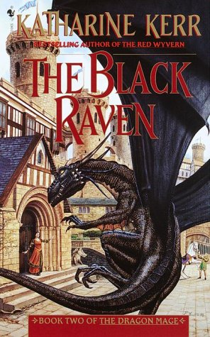 Black Raven Book Two of the Dragon Mage N/A 9780553579192 Front Cover