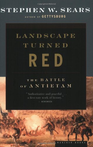 Landscape Turned Red The Battle of Antietam  1983 edition cover