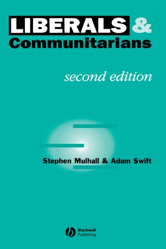 Liberals and Communitarians  2nd 1996 (Revised) edition cover