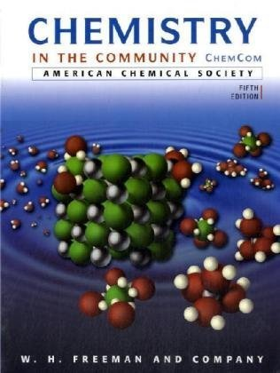 Chemistry in the Community  5th 2006 (Revised) edition cover