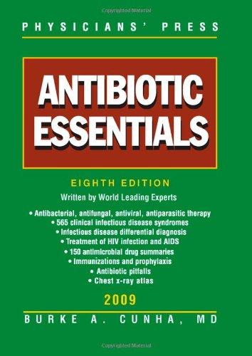 Antibiotic Essentials 2009  8th 2010 9780763772192 Front Cover