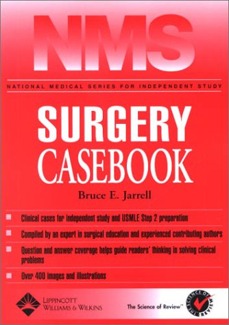 NMS Surgery Casebook   2003 edition cover