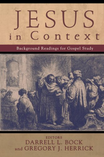 Jesus in Context Background Readings for Gospel Study  2005 edition cover