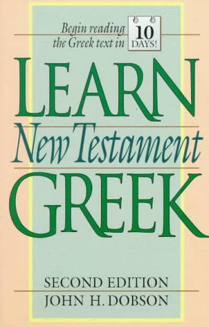 Learn New Testament Greek  2nd edition cover