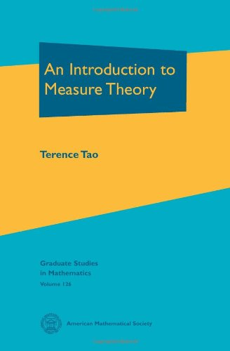 Introduction to Measure Theory   2011 edition cover