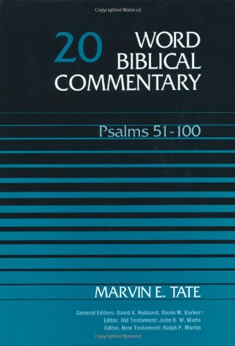 Psalms 51-100   1991 edition cover