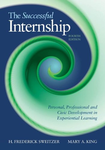 The Successful Internship:   2013 edition cover