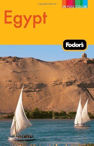 Fodor's Egypt  4th 2011 9781400005192 Front Cover
