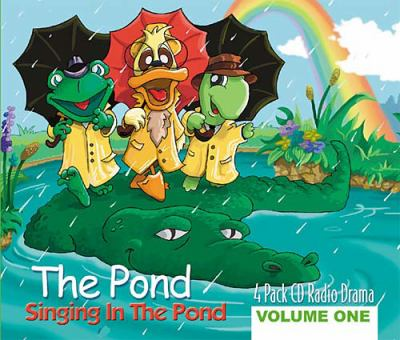 Singing in the Pond  2003 (Unabridged) 9781400302192 Front Cover