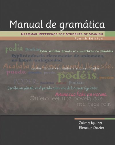 Manual de Gram�tica Grammar Reference for Students of Spanish 4th 2008 (Revised) edition cover
